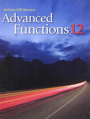 Advanced Functions - Grade 12