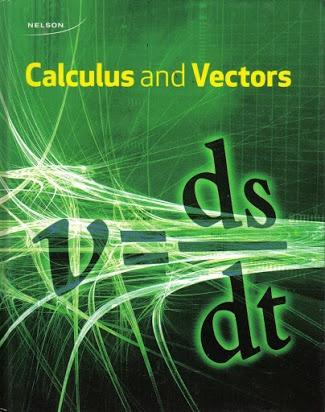 Calculus & Vectors - Grade 12