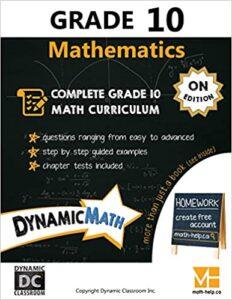 Math Grade 10 Book