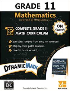 Math Grade 11 Book