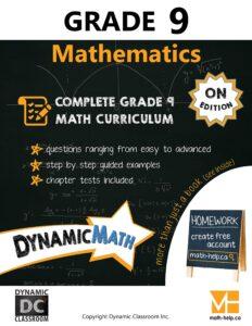 Math Grade 9 Book